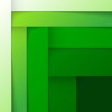 Abstract green triangle shapes background Royalty Free Stock Photos