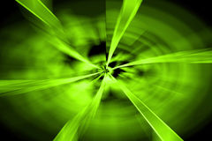 abstract green twirl background Royalty Free Stock Photos