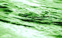 abstract green twirling water Στοκ φωτογραφία με δικαίωμα ελεύθερης χρήσης