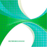 Abstract green vector background Stock Image