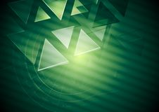 Abstract green vector background Stock Photo