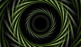 Abstract green vector tech background Stock Photos