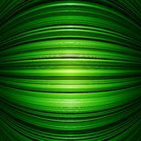 Abstract green warped stripes background Stock Image
