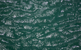 Abstract green water Royalty Free Stock Photography