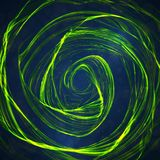 Abstract green, wave background Stock Photos