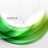 Abstract green wave swirl background Royalty Free Stock Photo