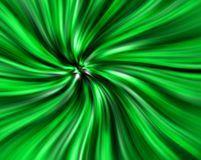 Abstract green waves Royalty Free Stock Photography