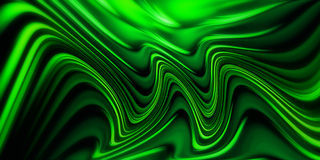 Abstract green waves background Royalty Free Stock Images
