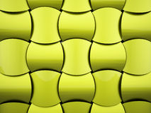 Abstract green waves background Stock Photography