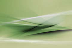 Abstract Green Waves Or Veils Background Texture Stock Photo