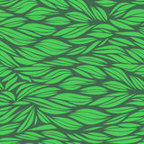 Abstract green wavy background Stock Image