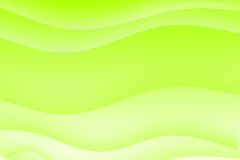 Abstract green wavy soothing background Royalty Free Stock Photos