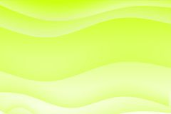 Abstract green wavy soothing background Royalty Free Stock Images