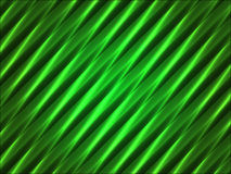 Abstract green wavy striped background Royalty Free Stock Photos