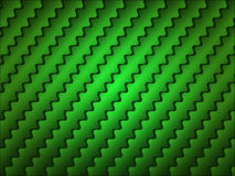 Abstract green wavy striped background Royalty Free Stock Image