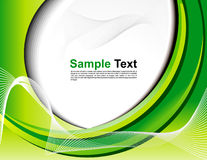 Abstract green web background Royalty Free Stock Photos