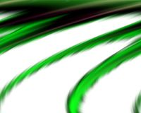 Abstract green white colors and background. Lines in motion. Abstract colors and lines in motion, green, phosphorescent, white hues. Creative curves and shining Stock Photos