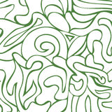 Abstract green and white colors composition Royalty Free Stock Image