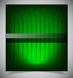 Abstract green wood background Stock Photography