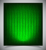Abstract green wood background Stock Images