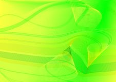 Abstract green and yellow background Royalty Free Stock Photography