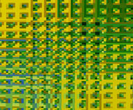 Abstract Green and Yellow. Background Stock Photo