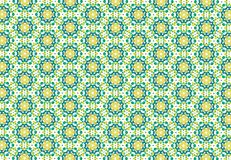 Abstract green yellow color pattern wallpaperru Royalty Free Stock Photography