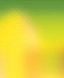 Abstract Green and Yellow Graphic Background. Abstract graphic header background perfect for ads, posters, banners or flyers where plenty of copy space is needed Royalty Free Stock Photography