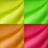 Abstract green yellow orange pink color gradient blur background illustration Royalty Free Stock Photo