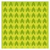 Abstract green & yellow pine pattern Royalty Free Stock Image