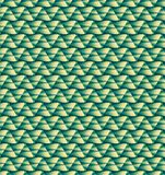 Abstract green zigzag pattern wallpaper. Abstract green zigzag pattern background Stock Photos