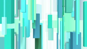 Abstract greentone background with vertically rectangulars stock video footage