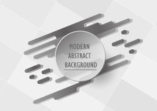 Abstract grey background with copy space for text. Abstract grey background with copy space for text on circle. Template design for presentation. Modern graphic Stock Photography