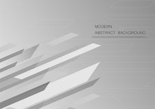 Abstract grey background with copy space for text. Modern graphic design for book cover. Vector element. Geometric template for presentation Royalty Free Stock Image