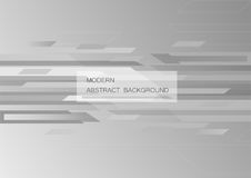 Abstract grey background with copy space for text. Modern graphic design for book cover. Vector element. Geometric template for presentation Royalty Free Stock Images