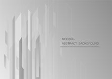 Abstract grey background with copy space for text. Royalty Free Stock Photo