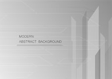 Abstract grey background with copy space for text. Stock Images