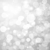 Abstract grey background with a light blur. Stock Images
