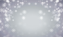 Abstract grey background. With snow Royalty Free Stock Photo