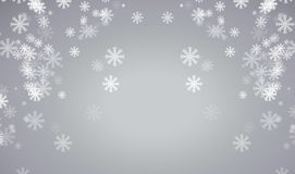 Abstract grey background. With snown Stock Photos