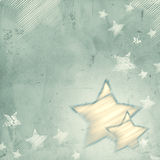 Abstract grey background with stars Royalty Free Stock Images