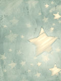 Abstract grey background with striped stars, vertical Royalty Free Stock Photography