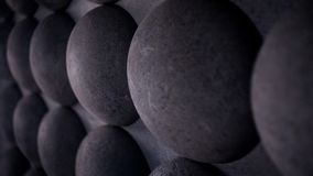 Abstract grey background texture of the balls stock images