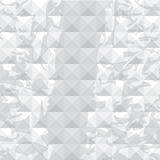 Abstract grey background of three-dimensional squares. Stock Photo