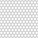 Abstract Grey Black White Tiles Grid Mesh Pattern Background Stock Illustratie
