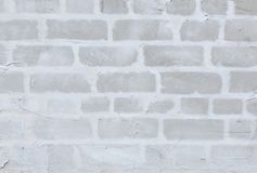 Abstract Grey Brick Background. Abstract Grey Brickwall Background Texture. Unfinished renovation Old Brick Wall. Grunge Wallpaper or Web banner With Copy Space Royalty Free Stock Images
