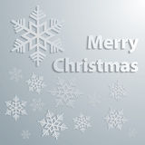 Abstract grey Christmas Background Royalty Free Stock Photos
