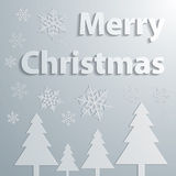 Abstract grey Christmas Background Stock Images