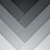 Abstract grey crossing rectangle shapes background Royalty Free Stock Photography