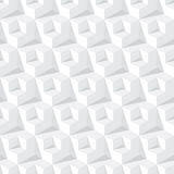 Abstract grey cube pattern Stock Images